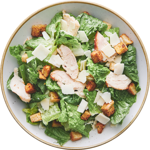 Caesar - A crispy classic with chicken